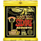 Struny Ernie Ball COATED TITANIUM RPS SLINKY ACOUSTIC LIGHT - .011 - .052