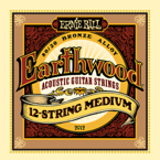 Struny Ernie Ball EARTHWOOD 12-STRING MEDIUM - .011/011 - .052/028