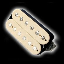 Humbucker Bare Knuckle Emerald 6 - kremowy, bridge