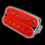 Humbucker Bare Knuckle Cold Sweat 6 - czerwony, bridge